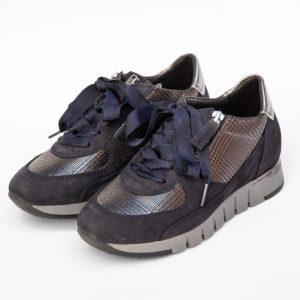 Basket-Marine-La-Strada-Chaussures-Carouge