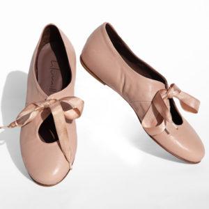 La-Strada-Chaussures-Ballerine-Rose