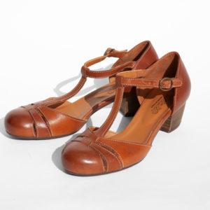 La-Strada-Chaussures-Salome-cuir-brun